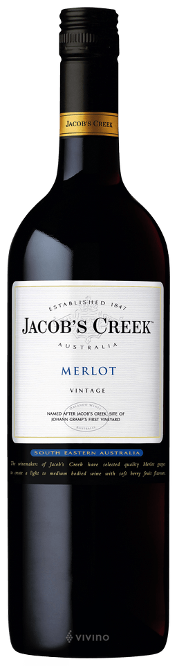 Jacob's Creek Merlot 2017