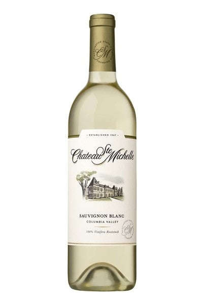 Chateau Ste. Michelle Columbia Valley Sauvignon Blanc 2018