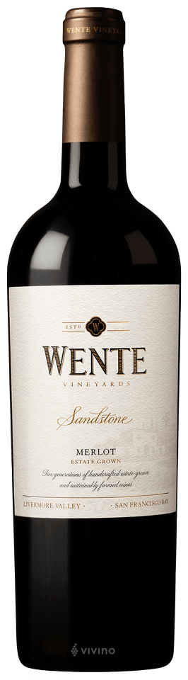 Wente Vineyards Sandstone Merlot 2018