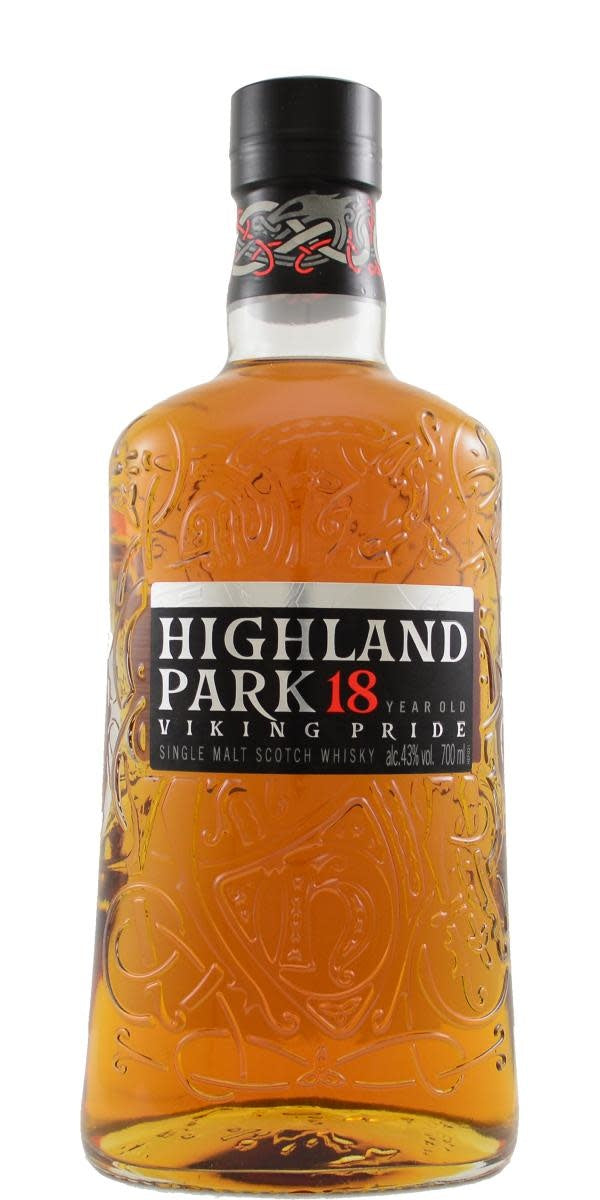Highland Park 18 Year Malt Whisky