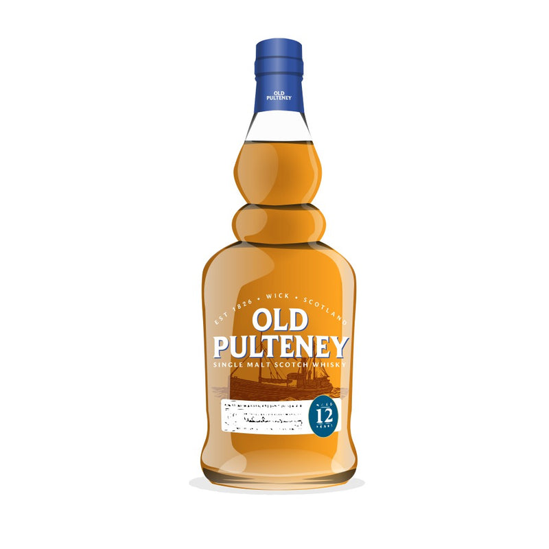 Old Pulteney 12 Year Single Malt Whisky