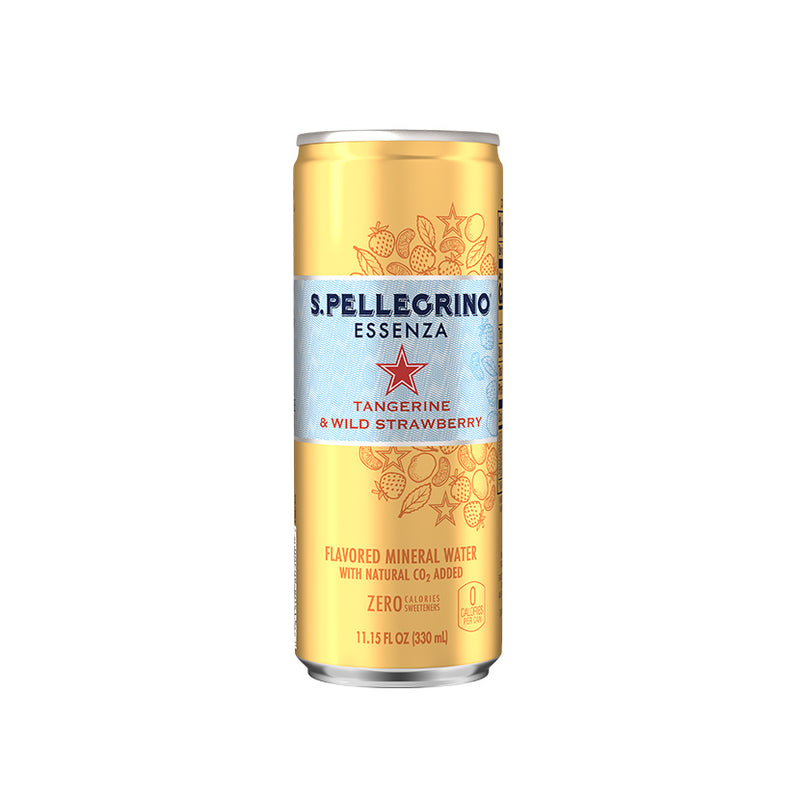 SanPellegrino Essenza Tangerine & Wild Strawberry