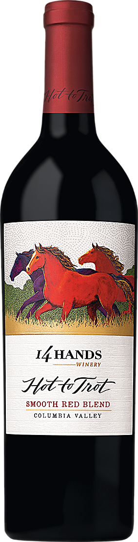 14 Hands Washington State Hot to Trot Red Blend 2016