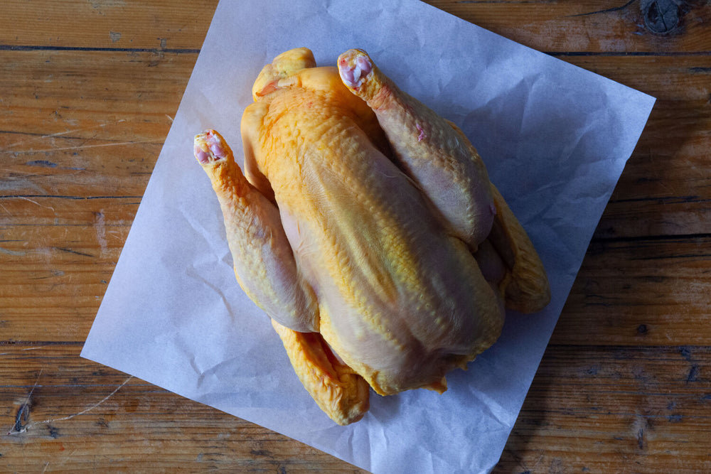 "Load image into Gallery viewer, Whole corn fed ""Label Rouge"" chicken 1.8-2kg"