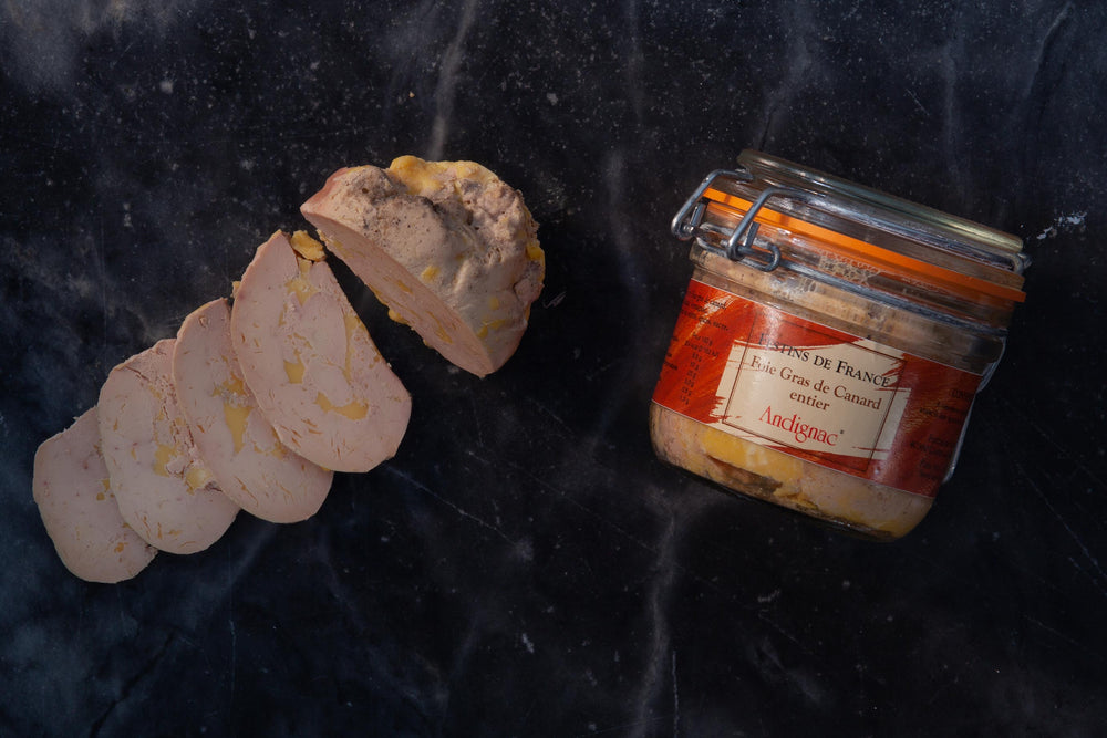"Load image into Gallery viewer, Foie Gras de canard entier ""mi-cuit"" (Christmas delivery)"