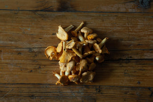 Load image into Gallery viewer, Wild Scottish girolles (250g)