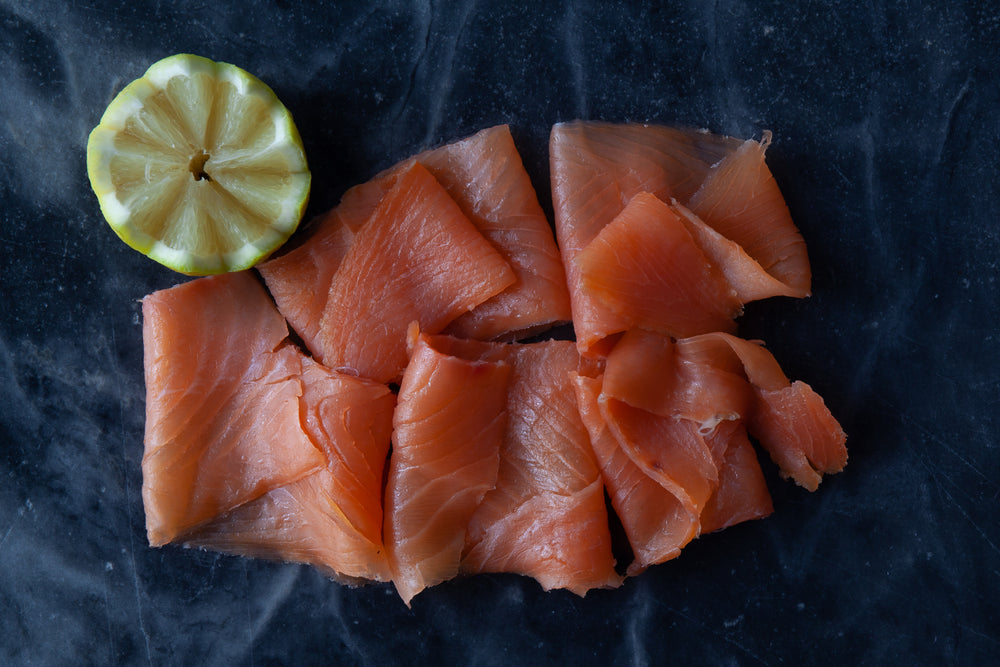 Load image into Gallery viewer, Traditional artisanally smoked salmon
