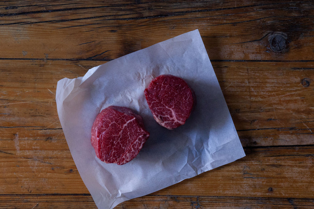 Load image into Gallery viewer, Beef fillet steaks (2x pieces)