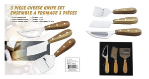 U at Home 3pc Cheese Knife Set