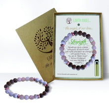 Load image into Gallery viewer, U at Home Aromatherapy Bracelet Black- Grand Daughter's Joy