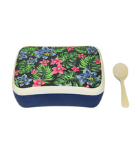 Load image into Gallery viewer, U at Home Bamboo Lunch Box- Tropical