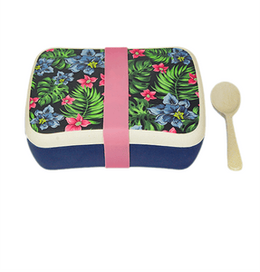 U at Home Bamboo Lunch Box- Tropical