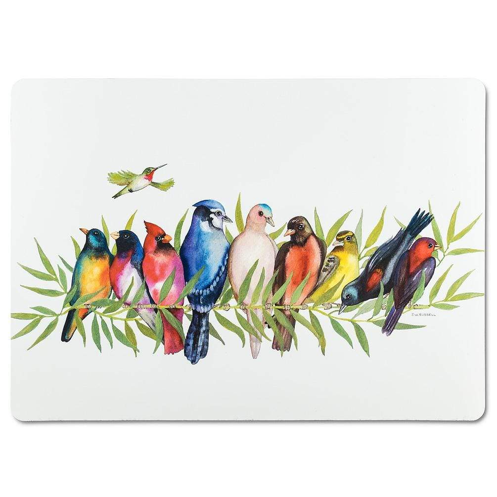 U at Home Birds on Branch Placemat