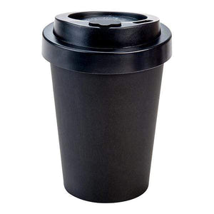 U at Home Black Bamboo Coffee Cup 400ml Various Patterns