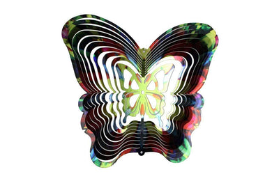 U at Home Butterfly Wind Spinner