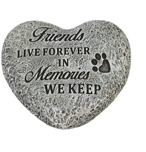U at Home Cat Memory Stone- Friend Live Forever