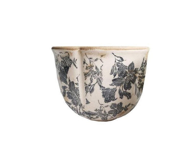 U at Home Ceramic Floral Design Pot- Small