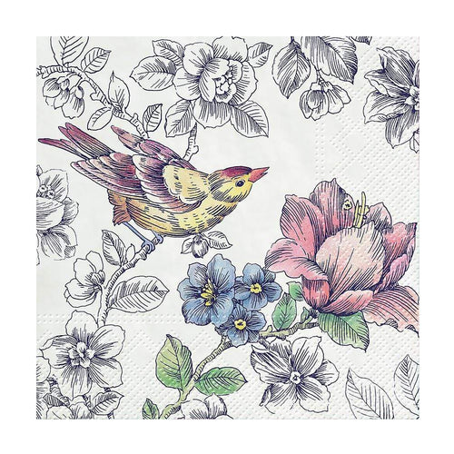 U at Home Cocktail Dream Garden Napkins. 20 Pack