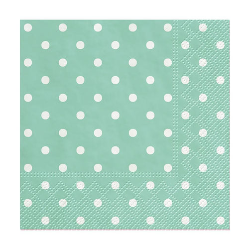 U at Home Cocktail Mini Dots Napkins. 20 Pack