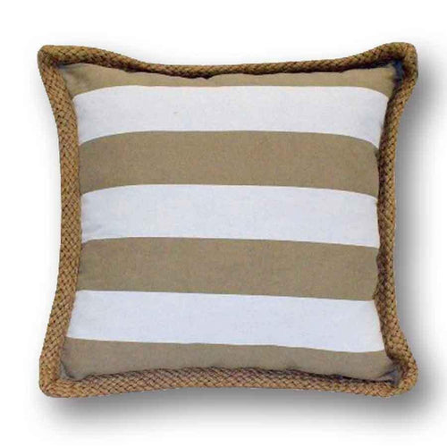 U at Home Cottge/Lakehouse Throw Pillow-Beige