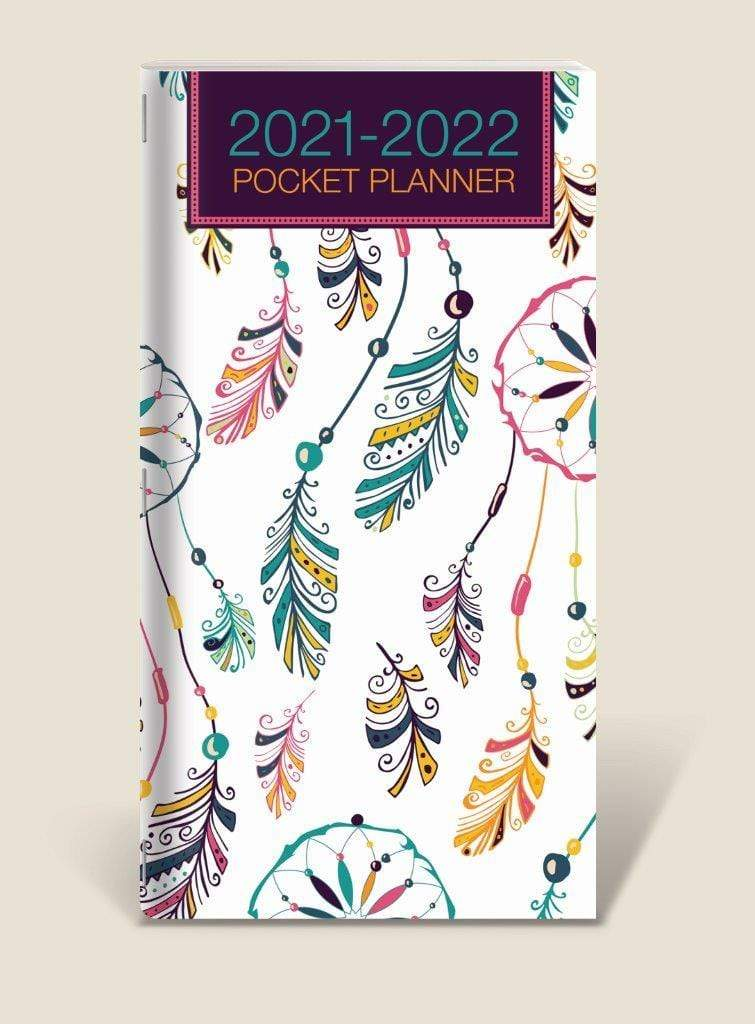 U at Home Feather Pocket Planner- 2021/2022