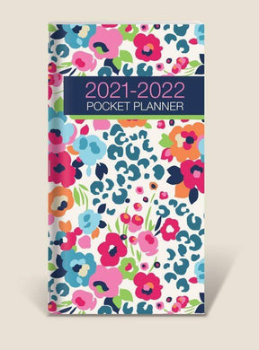 U at Home Flowers Pocket Planner- 2021/2022