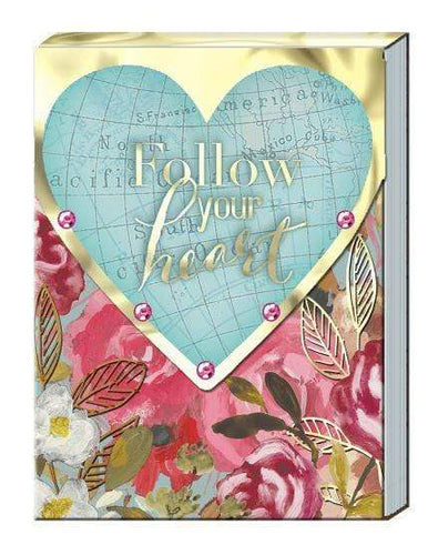 U at Home Follow your heart Pocket Note Pad-Various Patterns