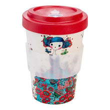Load image into Gallery viewer, U at Home Macaron Bamboo Coffee Cup 400ml Various Patterns