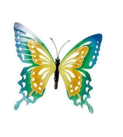 U at Home Metal Butterfly-Yellow