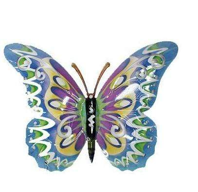 U at Home Multi Colour Butterfly-Blue