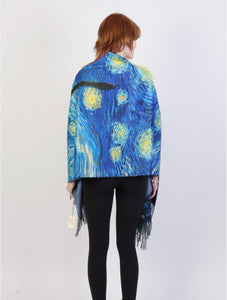 U at Home Oil Painting Design Fashion Scarf