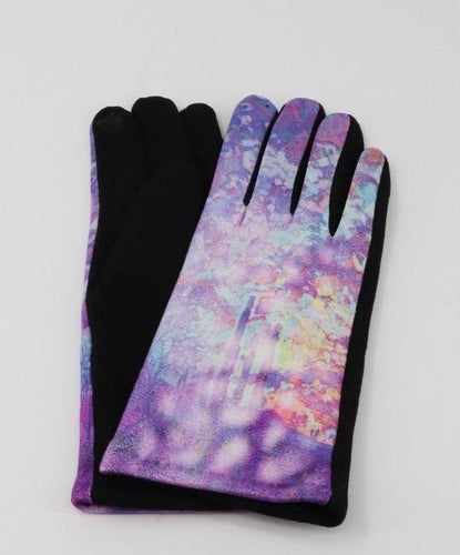 U at Home Oil Painting Design Touch Screen Glove