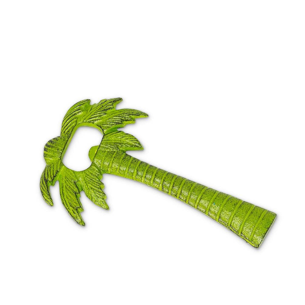 U at Home Palm Tree Bottle Opener-Grn-5.5