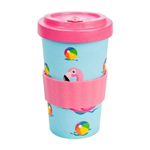U at Home Seafun Bamboo Coffee Cup 500ml- Various Patterns