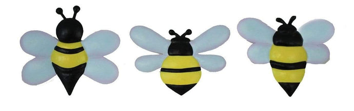 U at Home Set of 3 Metal Honey Bee's