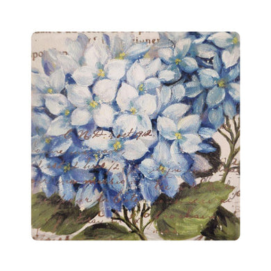 U at Home Set of 4 Blue Floral Coasters