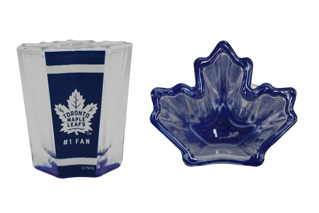 U at Home Shot Glass- Toronto Maple Leafs