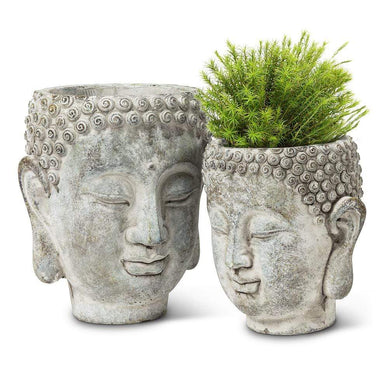 U at Home Small Buddha Head Planter