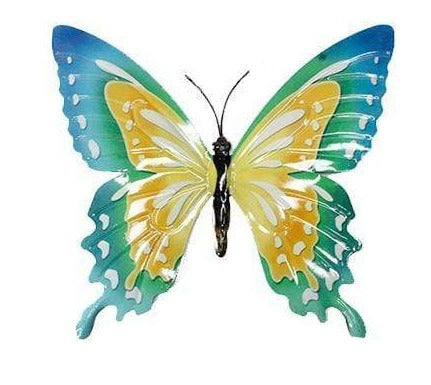 U at Home Small Metal Butterfly-Yellow