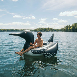 U at Home The Loon - Adult Swimming Pool Float