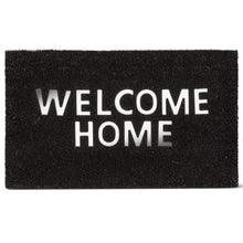 "Load image into Gallery viewer, U at Home Urban ""Welcome Home"" Doormat PVC Back (18""x30"") Special Order"