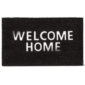"U at Home Urban ""Welcome Home"" Doormat PVC Back (18""x30"") Special Order"