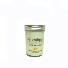Load image into Gallery viewer, U at Home White Tea & Honey-Serendipity 8oz Jar Candle