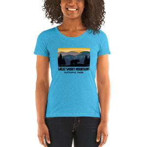Great Smoky Mountains National Park Ladies' short sleeve t-shirt