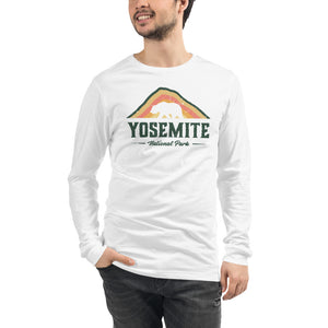 Yosemite National Park Men's Long Sleeve Tee