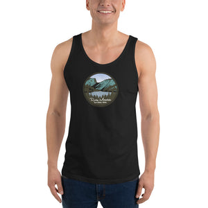 Rocky Mountain National Park Unisex Tank Top