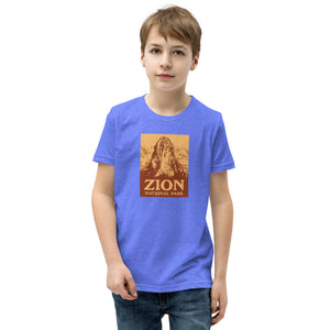 Zion National Park Youth Short Sleeve T-Shirt