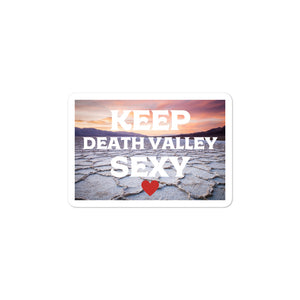 Keep Death Valley Sexy Sticker