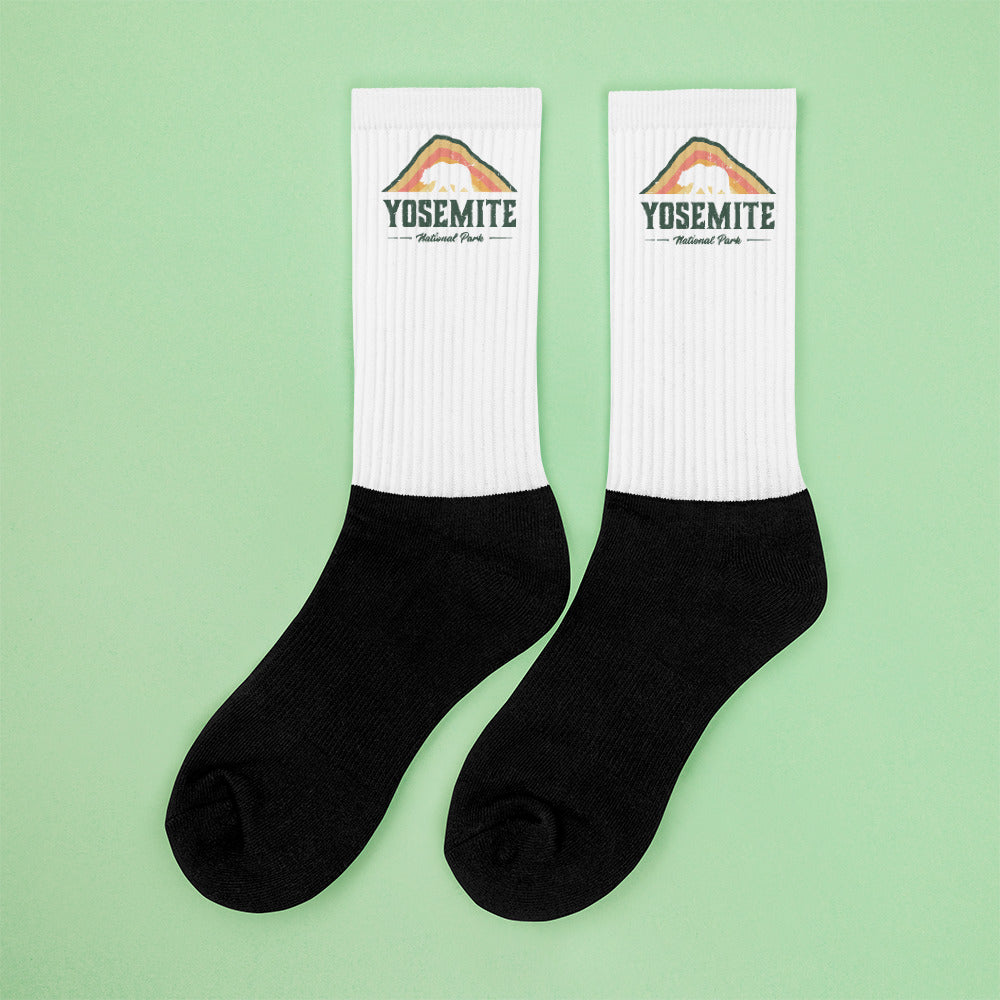 Vintage Yosemite Socks
