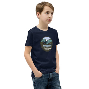 Rocky Mountain National Park Unisex Youth Short Sleeve T-Shirt